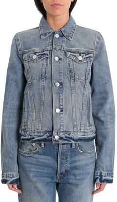 Helmut Lang Square Shoulder Denim Jacket