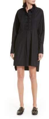 Etoile Isabel Marant Milena Ruffle Neck Shirtdress