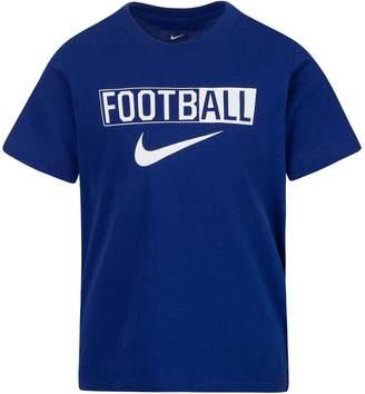 "Nike Boys 4-7 Football"" Graphic Tee"