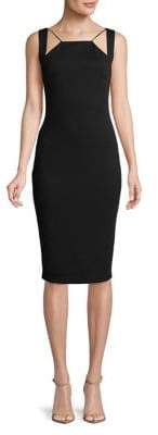 Bailey 44 Cut-Out Sheath Dress