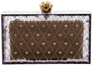 Charlotte Olympia Charlotte Olympia Embellished Pandora Clutch