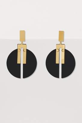 Isabel Marant Brass earrings