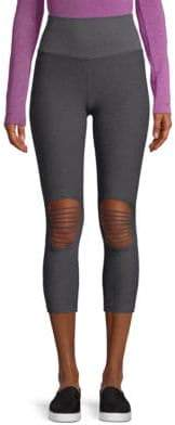 St Nicholas Phat Buddha Ave Two-Tone Leggings