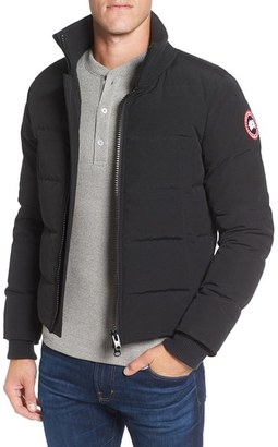 Men's Canada Goose 'Woolford' Down Bomber Jacket $695 thestylecure.com