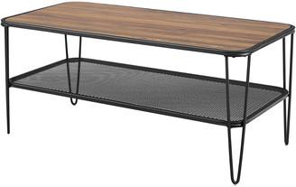 Mid-Century MODERN Hewson 42In Hairpin Coffee Table