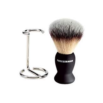 Tweezerman Shave Brush and Stand
