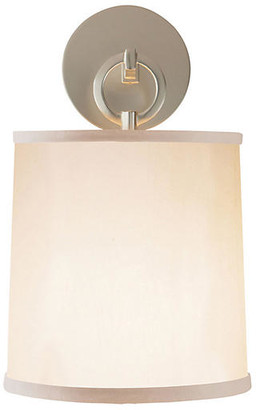 Visual Comfort & Co. French Cuff Sconce - Silver