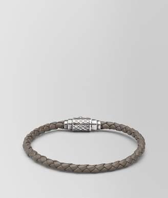 Bottega Veneta Steel Intrecciato Nappa Bracelet