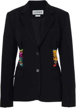 Embroidered Knot Jacket