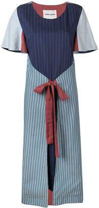 Henrik Vibskov striped wrap dress