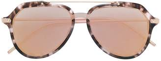 Dolce & Gabbana Eyewear polarized aviator-frame sunglasses