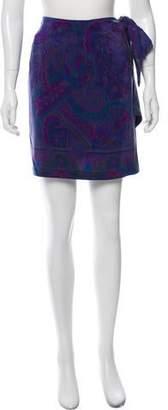 Ellen Tracy Silk Wrap Skirt