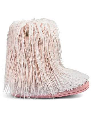 Bedroom Athletics Jean Slipper Boots