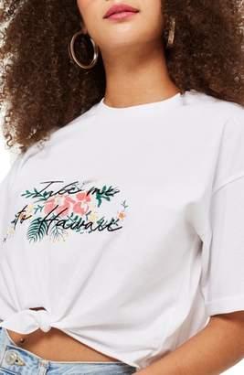 Topshop Hawaii Knot T-Shirt