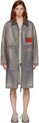 A-Cold-Wall* Grey Mac Coat