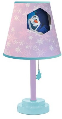 "Disney Frozen Die Cut Table Lamp- 18""H"