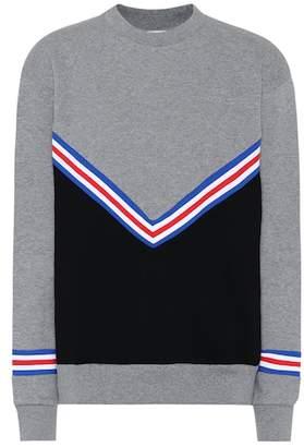 Être Cécile Cotton chevron sweatshirt