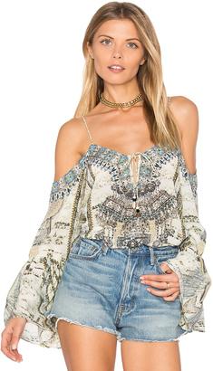 Camilla Drop Shoulder Top $400 thestylecure.com