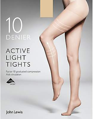 Sheer Toe Tights - ShopStyle UK