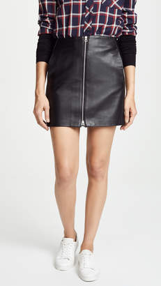 Rag & Bone Heidi Leather Skirt