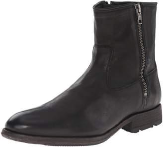 Frye Men's Ethan Double Zip Boot, Black