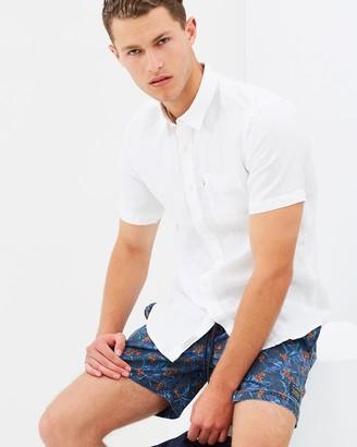 Hampton Linen SS Shirt