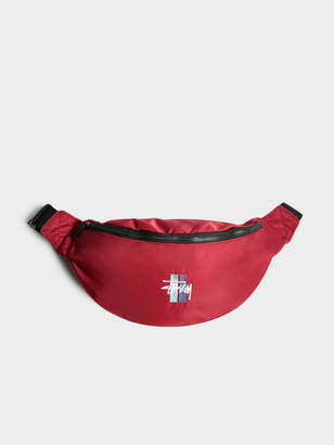 Stussy Unisex Bar Waist Bag in Red