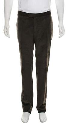 Isaia Flat Front Casual Corduroy Pants w/ Tags