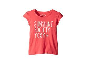 Cotton On Roxy Kids We Rise School Tee (Toddler/Little Kids/Big Kids)