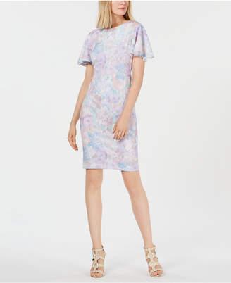 7719ad67ed6d33 Calvin Klein Flutter Sleeve Dresses - ShopStyle