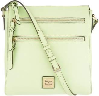 2216bdffdf76 Dooney   Bourke Saffiano Leather Triple Zip Crossbody Handbag