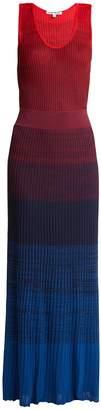Elizabeth and James Winona ribbed-knit maxi dress