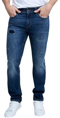 "Seven7 Slim Straight Fit Jeans - 30-34"" Inseam"
