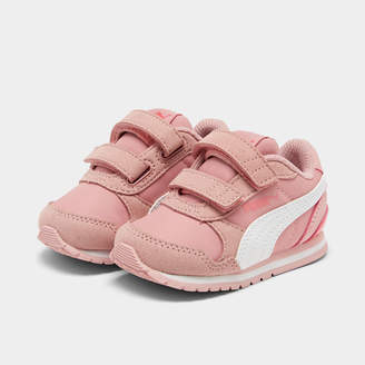Puma Girls' Toddler ST Runner V2 Leather Casual Shoes