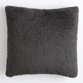 Pottery Barn Teen Cozy Euro Pillow Cover, 26&quotx26&quot, Charcoal