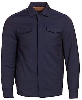 Loro Piana Men's Long Shirt Jacket