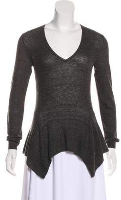Lanvin Knit Long Sleeve Top