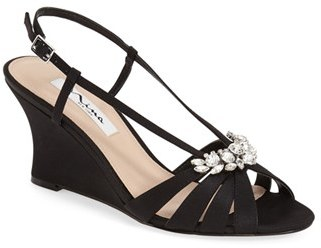 Nina 'Voleta' Wedge Sandal (Women) $98.95 thestylecure.com
