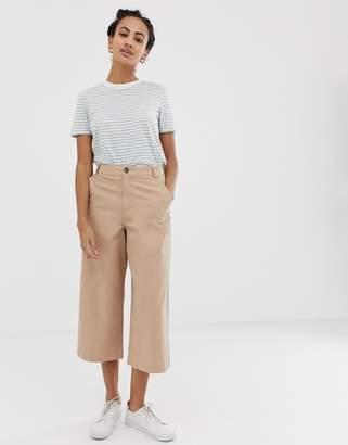 Asos (エイソス) - Asos Design ASOS DESIGN casual culotte in twill