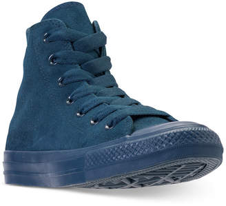 abd3189b6358 Converse Unisex Chuck Taylor All Star Suede Mono Color High Top Casual  Sneakers from Finish Line