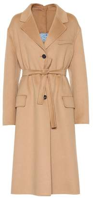 Prada Wool and angora-blend coat