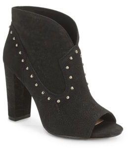 Corianne Peep Toe Booties $149 thestylecure.com
