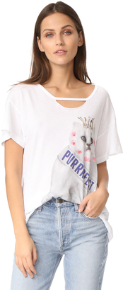 Wildfox Purrfect Tee $64 thestylecure.com