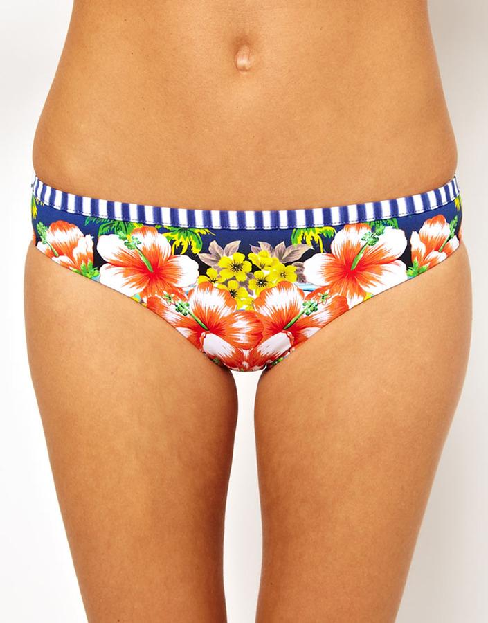 Seafolly Aloha Mini Hipster Bikini Pant