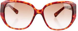 Tory Burch Logo Gradient Sunglasses