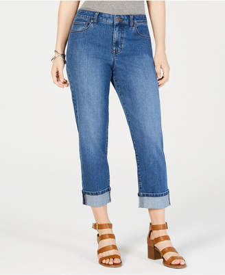 Style&Co. Style & Co Curvy-Fit Capri Jeans