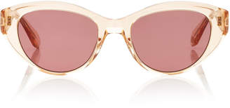 Garrett Leight Del Rey 50 Cat-Eye Acetate Sunglasses