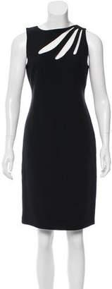 Versace Silk Cutout Dress