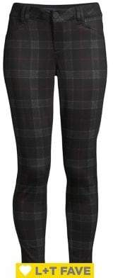 Democracy Plaid Jeggings