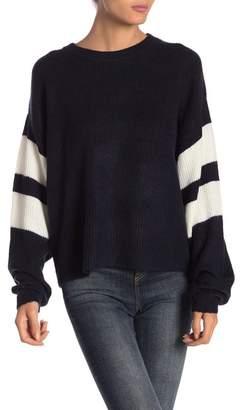 John & Jenn Varsity Stripe Sweater